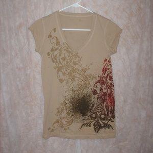 Vintage Calvin Klein Jeans Ladies T-shirt - Small